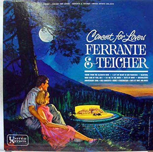 FERRANTE & TEICHER concert for lovers LP vinyl UAS 6315 Used_VeryGood+ -  UNITED ARTISTS RECORDS