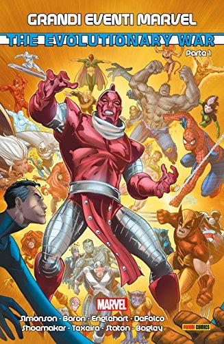Evolutionary War 1 (Grandi Eventi Marvel Vol. 20)