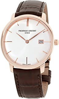 Frederique Constant Slimline Automatic Movement Silver Dial Men's Watch FC306V4S4