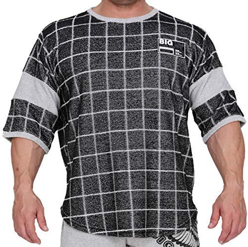 BIG SM EXTREME SPORTSWEAR Ragtop Rag Top Sweater T-Shirt Bodybuilding 3255 schwarz XXL