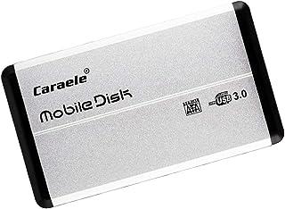 B Blesiya Externe harde schijf, draagbaar, 1T, USB 3.0, 2,5 inch, zilver