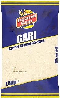 Island Sun Gari 1,5 KG, Gari Cassava Mehl, Maniokmehl, Grob