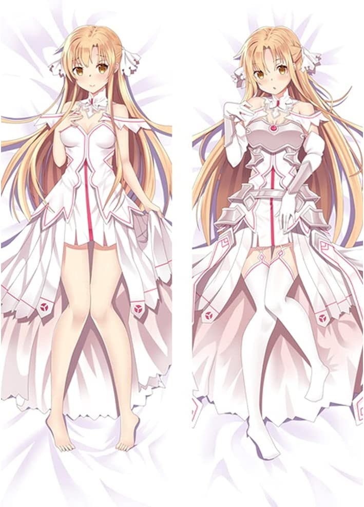 Pwwpyy At the price Anime NEW before selling Name: Sword Art Pillowcase Pillo Body Online