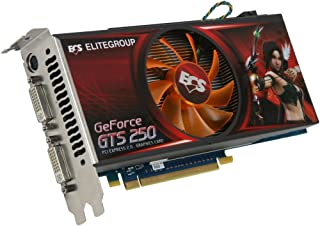ECS NGTS250-512MX-F GeForce GTS 250 512MB 256-Bit DDR3 PCI Express 2.0 x16 HDCP Ready SLI Support Video Card