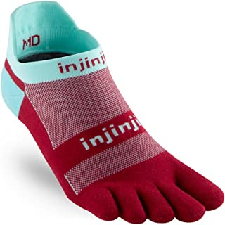Injinji Men's Run Original Weight No Show Toesocks