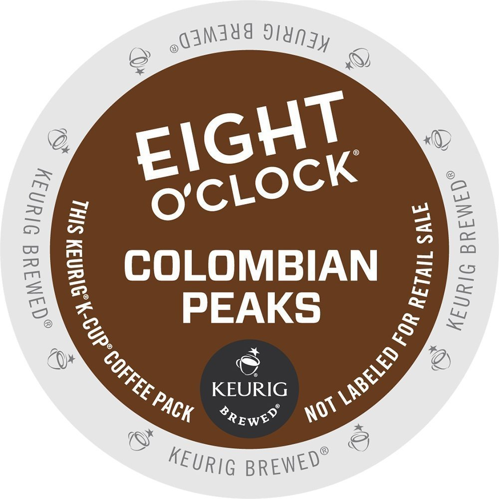 48 Count - Eight O'Clock latest Colombian Blend KEURIG k NEW before selling Cup Brewer For