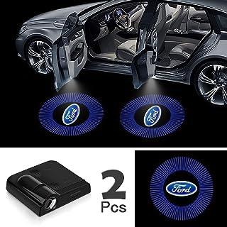 JOJOY LUX 2 Pack Car Door Lights Logo Projector, Universal Wireless Car Door Led Projector Lights, Upgraded Car Door Welco...