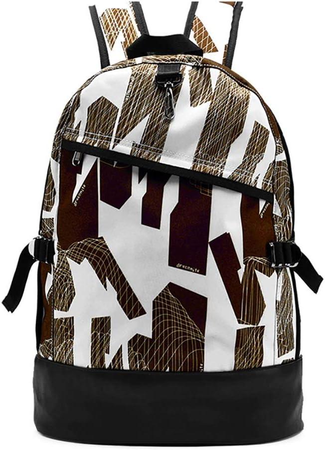 Backpack Popular brand in the world Travel Bag Student Charlotte Mall Graffiti Print Oxford Waterproof
