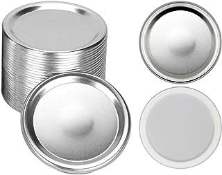 Canning Lids, Regular Mouth Mason Jar Lids, Split-type Lids Leak Proof And Secure Canning Jar Caps, 24-Count (70mm)