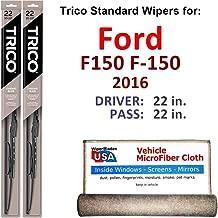 2016 f150 wiper blade size