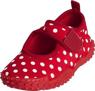 Playshoes Souliers de Sports Aquatiques avec Protection UV Points, Chaussures pour Piscine et Plage Fille