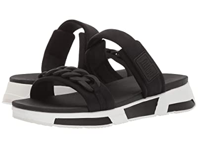 FitFlop Heda Chain Slide (Black) Women