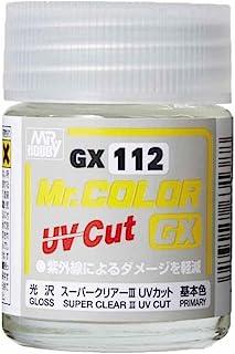 GSIクレオス Mr.カラーGX スーパークリアー3 UVカット光沢 18ml ホビー用塗料 GX112