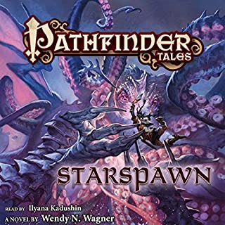 Pathfinder Tales: Starspawn audiobook cover art