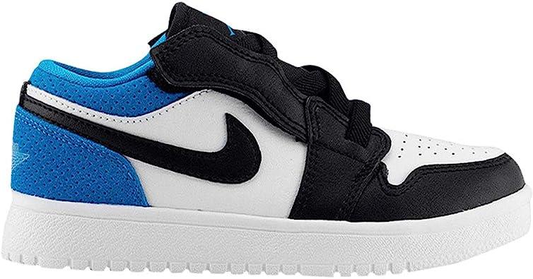Amazon.com   Jordan Kid's Shoes Nike Air 1 Low ALT (PS) Laser Blue ...