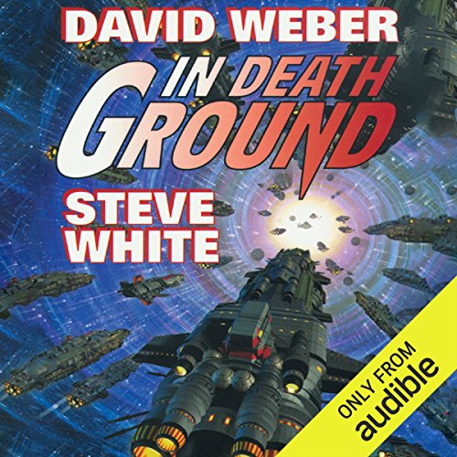In Death Ground audiobook cover art