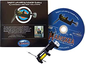 Hamskea Archery Solutions Sight Leveling Made Easy Dvd 3Rd Axis Level Combo Pack Black