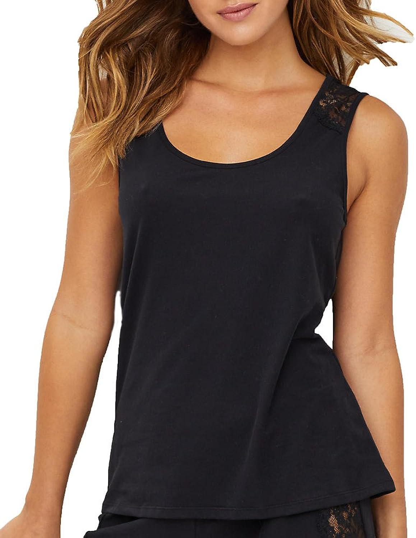Lusome Women's Nathalie Night Sweat Relief Pajama Tank Top Sleepwear Moisture Control Shirt