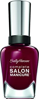 Sally Hansen Complete Salon Manicure™ - Society Ruler, A Bordeaux Nail Polish