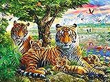 Rompecabezas Adultos Puzzle 2000 Piezas Puzzles De Madera Tiger-2000 Rompecabezas Adultos 2000 Piezas Divertido Juego Familiar Puzzle
