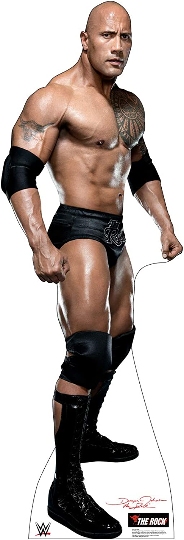 Advanced Graphics The Rock Life Size Cardboard Cutout Standup - WWE