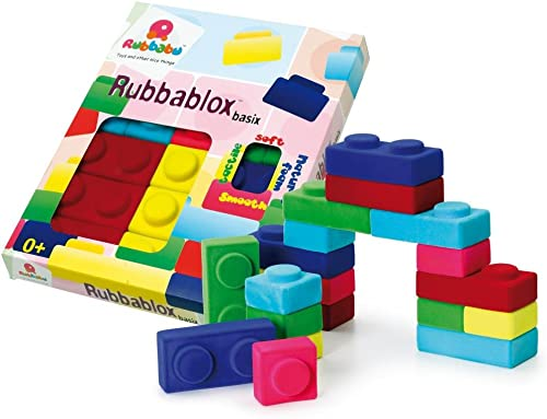 Erzi 3,8 28,7 35,3  Rubbablox Basix Spielzeug