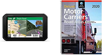 "Garmin RV 785 & Traffic, Advanced GPS Navigator for RVs with Built-in Dash Cam, High-res 7"" Touch Display, Voice-Activated..."