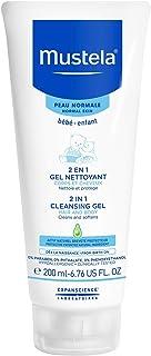 Mustela 2-in-1 Cleansing Gel for Normal Skin, Hair and Body , 200 ml (MUSMUSC73028183)