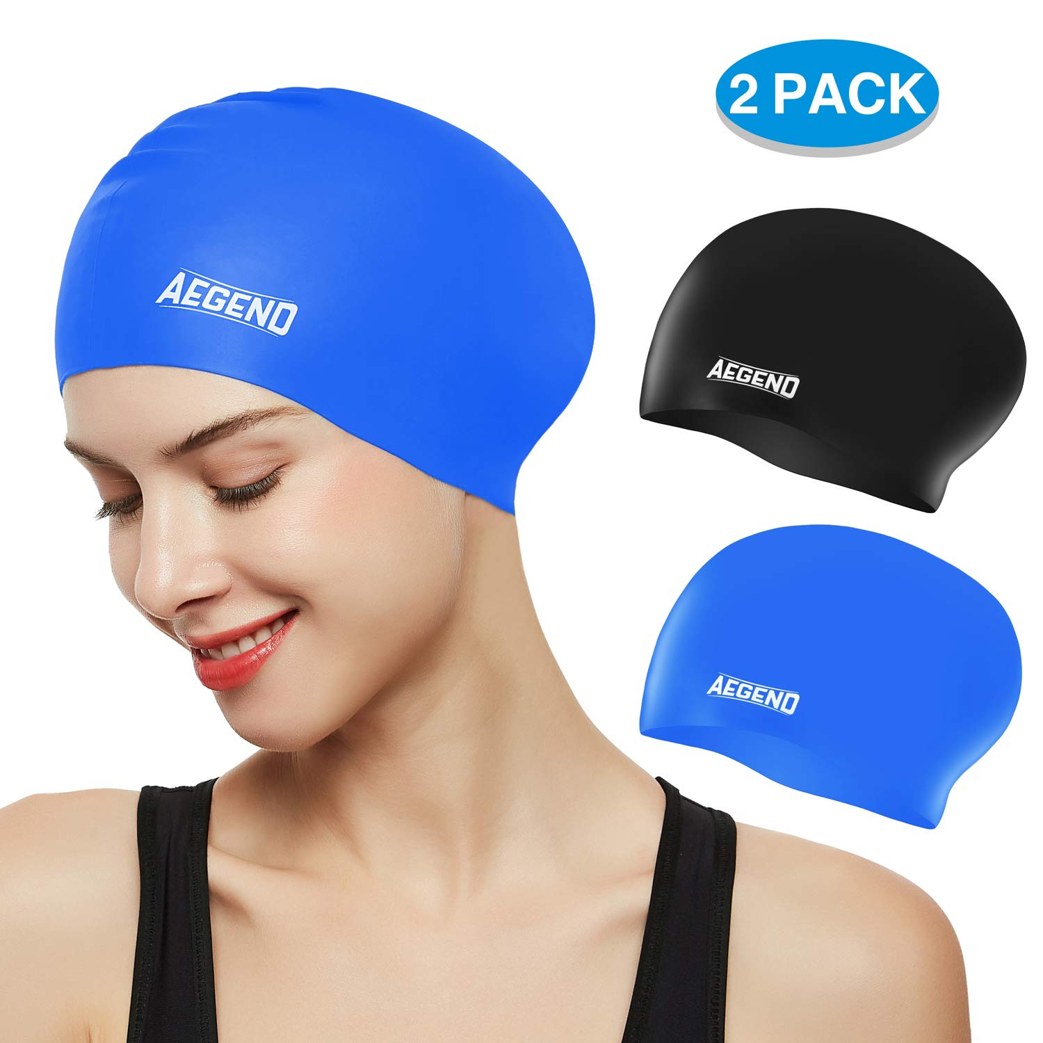 aegend Durable Silicone Swimming Spacious