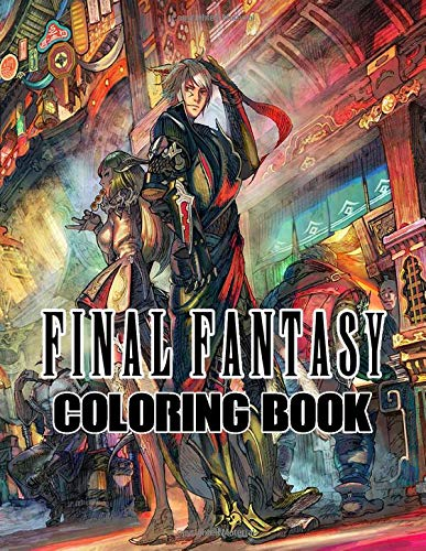 Final Fantasy Coloring Book: Live in the world of Final Fantasy, bring all the favorite characters to life
