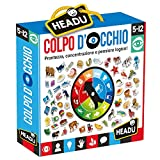 Headu- Colpo d'Occhio Gioco Educativo, Multicolore, IT24162