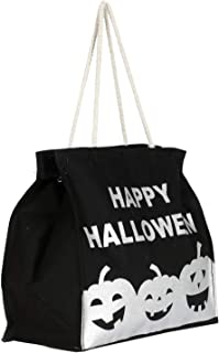 Heart Home Canvas Small Lunch Carry Bag (Black)- (CTHH021932)
