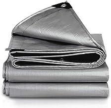 LIXIONG dekzeil voor buiten, antioxidatie, regenbestendige doek, golvend, zonnecrème, eenvoudig op te vouwen, zeildoek, 21...