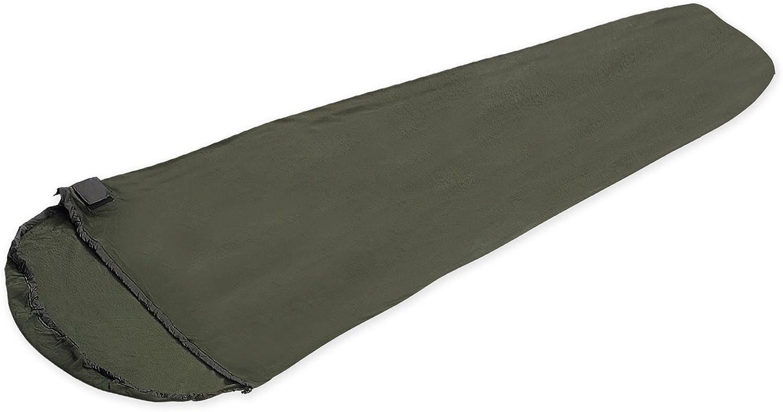 Snugpak Fleece Sleeping Bag Liner with Side Zip