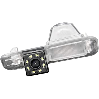 for Forester//Outback 2007-2012//Sedan//Tribeca//Legacy B4 BL BP//Liberty MK4 Misayaee Rear View Back Up Reverse Parking Camera in License Plate Lighting Night Version NTSC