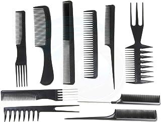 Professional Salon Hair Comb Set(10pcs=1set),1 set