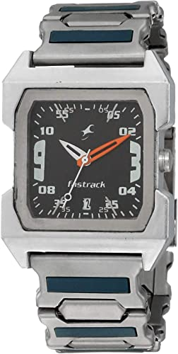 Fastrack Party Analog Black Dial Men s Watch NM1474SM02 NL1474SM02