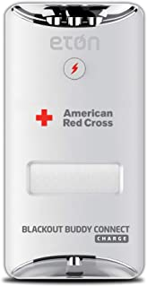 Eton American Red Cross Blackout Buddy Connect Charge Emergency LED Light & USB Charger, Connects with Amazon Alexa, Apple...
