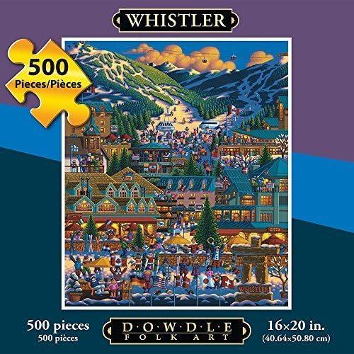 Tu satisfacción es nuestro objetivo Eric Dowdle Whistler Whistler Whistler 500 Piece Puzzle by Dowdle Folk Art  envío gratuito a nivel mundial