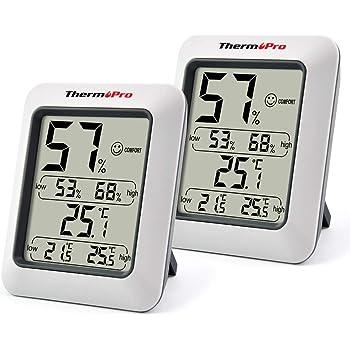 4x Digital LCD Thermometer Hygrometer Temperaturmesser Luftfeuchtigkeitmesser