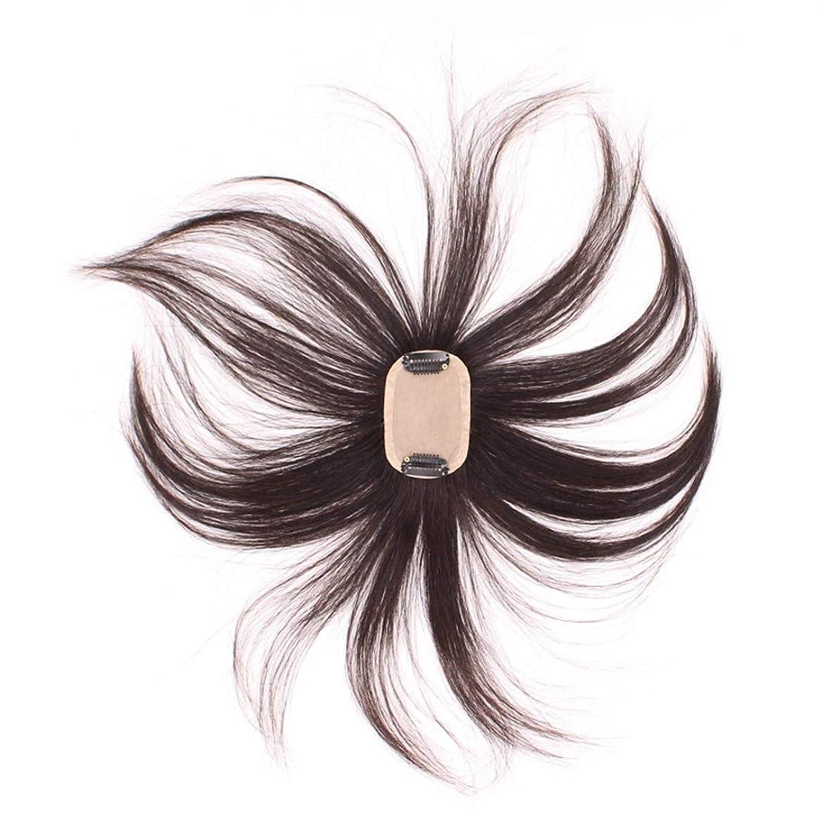 から聞く印刷するオンスBOBIDYEE フルハンド織りヘアピースハンドニードルヘアライン再発行本物のかつら男性と女性のための人工毛レースのかつらロールプレイングかつら (色 : Natural black)