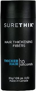 SureThik Hair Thickening Fibers - Light Brown, 30 gm