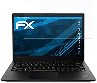atFoliX Schermbeschermer compatibel met Lenovo ThinkPad T14s Beschermfolie, ultra-helder FX Schermfolie (2X)