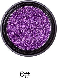 Handfly Sombra de ojos con brillo, 14 colores Sombra de ojos con brillo para Fiesta Festival Sombra de ojos, Maquillaje, Arte de uñas
