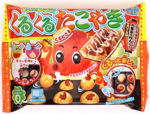 Kuru Kuru Takoyaki Kracie Popin' Cookin' DIY Süßigkeiten