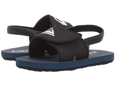Quiksilver Kids Molokai Layback (Infant/Toddler) (Black/Grey/Blue) Boys Shoes