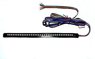 Kinstecks 4PCS Indicadores de motocicleta Luces de giro intermitentes Luces de circulaci/ón diurna Luces de freno 12V para motocicleta