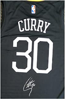 Golden State Warriors Stephen Curry Autographed Signed Fanatics The Town Jersey - Beckett Authentic