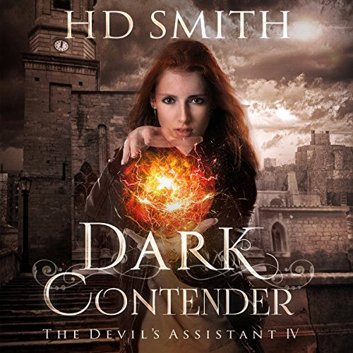 Dark Contender audiobook cover art