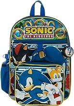Amazon Com Sonic The Hedgehog Backpack
